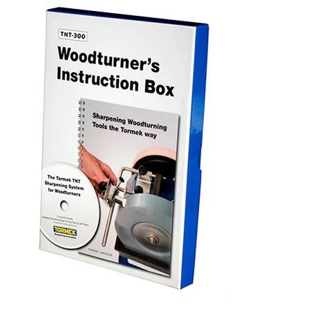 DVD d'instructions du tourneur spécial TNT-708 - Version GB - Tormek - TNT-300 - -