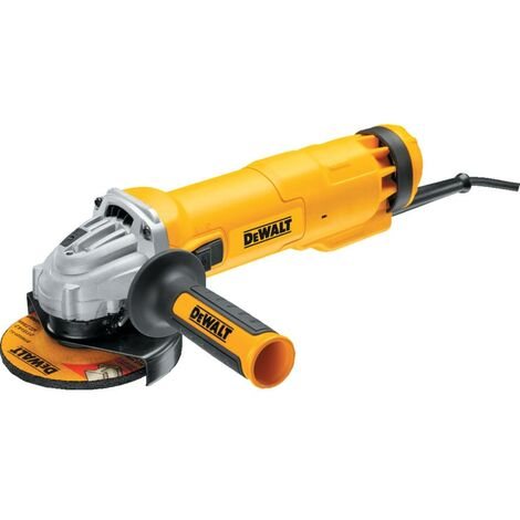 DWE4206 - 115 mm Compact Angle Grinder with Slide Switch SAG No-Volt - 1010W