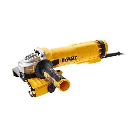 DWE46105-QS. Meuleuse Dewalt 1400Watts 115-125mm carter déjointoyage et interrupteur glissière