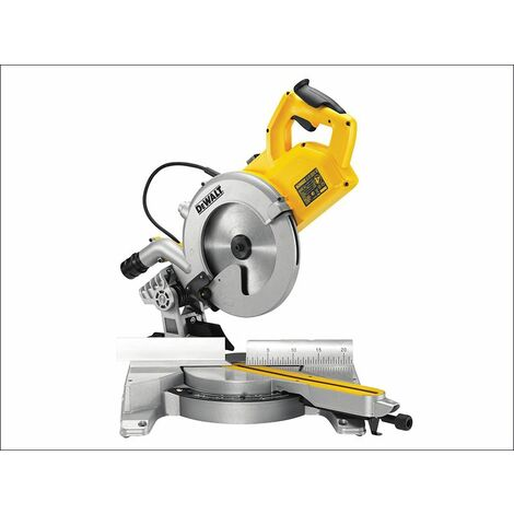 DWS778 Mitre Saw 250mm 1850W 110V (DEWDWS778L)
