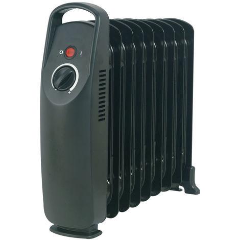 DX Drexon BABY OIL - Mini bain d'huile - 850W - 33 x 14 x 38 cm - Avec Anti-surchauffe - Thermostat mécanique - Noir