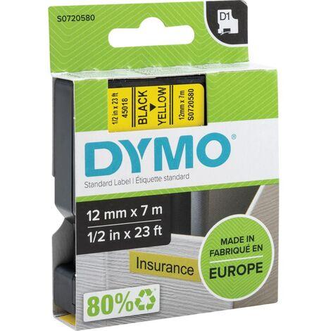 """main image of """"DYMO S0720680 D1 Tape 9mm x 7m Black on White."""""""