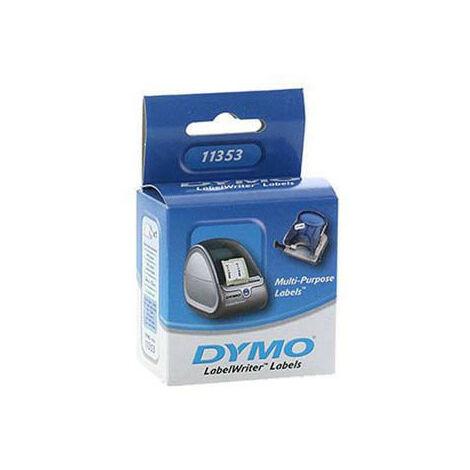 Dymo Etiquettes 24mm x 12mm, blanc, 11353, S0722530 (11353)