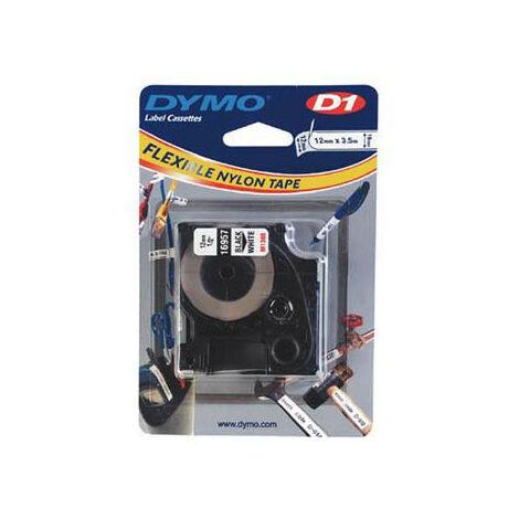 Dymo Ruban pour imprimante etiquettes 16957, S0718040, 12mm, 3,5m, whiteD1, special - (S0718040)