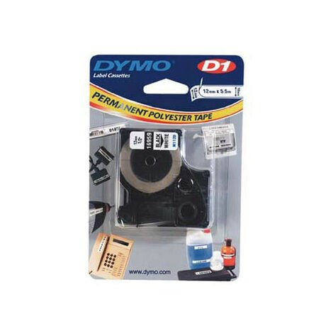Dymo Ruban pour imprimante etiquettes 16959, S0718060, 12mm, 5,5m, whiteD1, special - (S0718060)