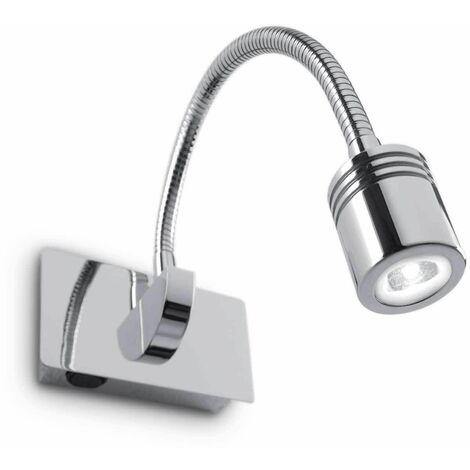 DYNAMO chrome wall light 1 bulb