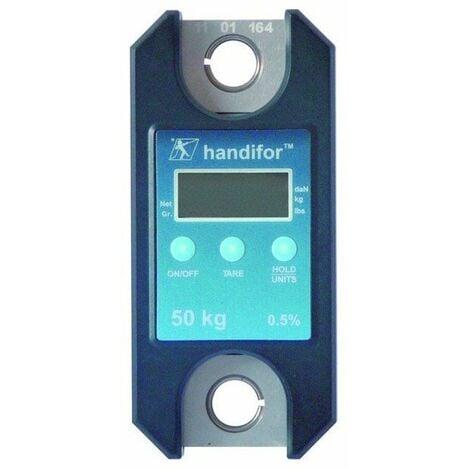 Dynamometre handifor mini peson affichage digital capacite 100 kgs