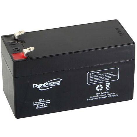 Dyno Europe Accu acide-plomb 12V-1.3Ah 96.5x45x59mm (DAS12-1.3)