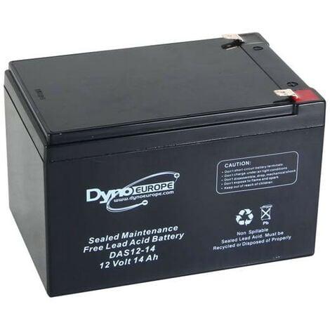 Dyno Europe Accu acide-plomb 12V-14Ah 150x97x99mm (DAS12-14)