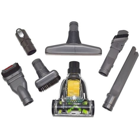 Dyson DC06, DC07 and DC08 Vacuum Cleaner Tool Set with Mini Turbo Floor Tool