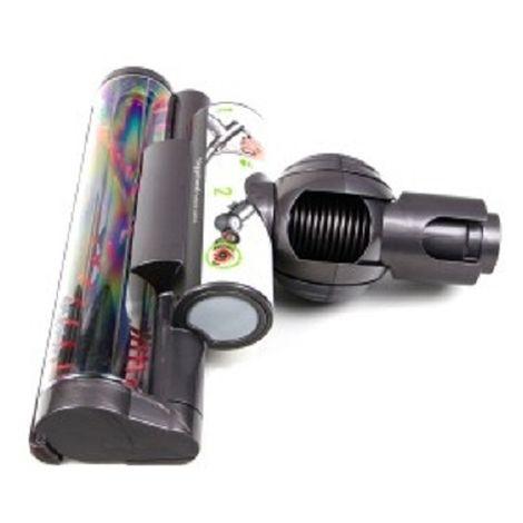 Dyson Turbodüse, Turbinendüse, Düse für DC37 DC28C DC33C DC37C DC39C DC41C Triggerhead - Nr: 923181-03 ersetzt 923394-01