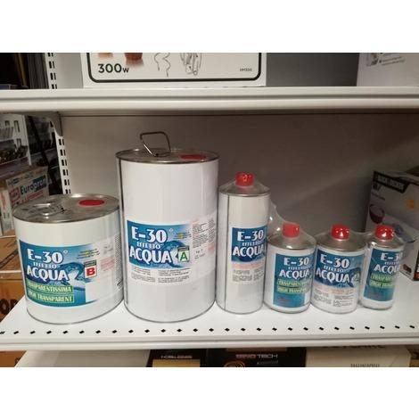 E-30 effetto acqua resina epossidica a+b kg 9.92