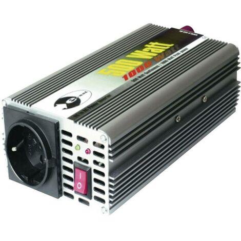 e-ast CL 500-12 Onduleur sinusoïdal, transformateur de tension, 500 W,12 VDC (11 à 15 V) - -230 V/AC S91055
