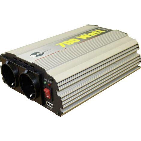 e-ast CL700-D-12 Onduleur sinusoïdal, transformateur de tension, 700 W,12 VDC (11 à 15 V) - -230 V/AC S91098