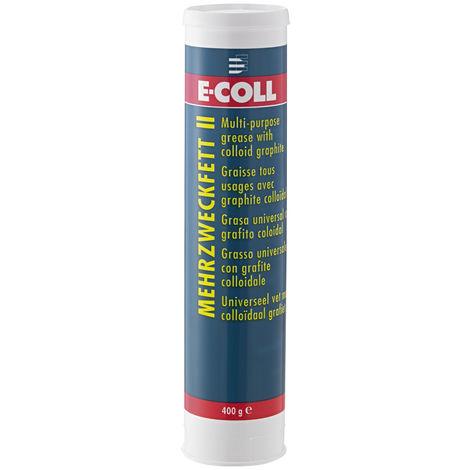 E-COLL Mehrzweckfett II graphiert 400g Kartusche