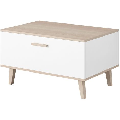 e-Com - Coffee Table Stockholm - 80x58 cm