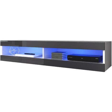 e-Com - Floating TV Unit Volant - 150 cm - With LED