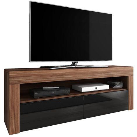 e-Com - TV Unit Cabinet Stand Sideboard LUNA - 140 cm