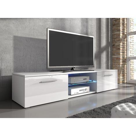 e-Com - TV Unit Cabinet Stand Sideboard Samuel - 150 cm