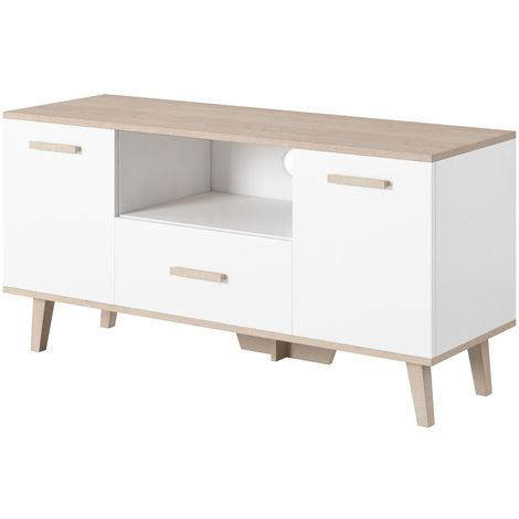 e-Com - TV Unit Cabinet Stand Sideboard Stockholm - Various Sizes