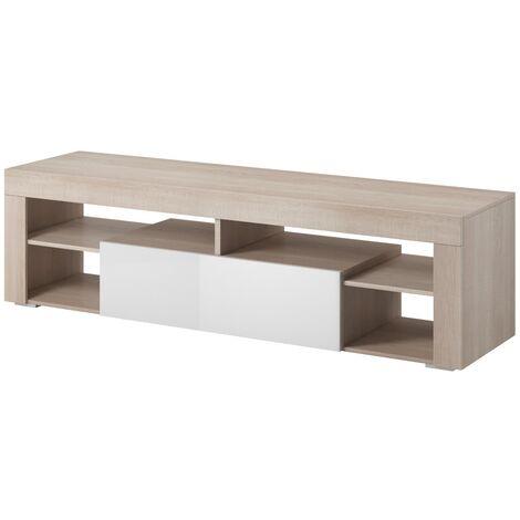 e-Com - TV Unit Cabinet Stand Sideboard Titan - 140 cm