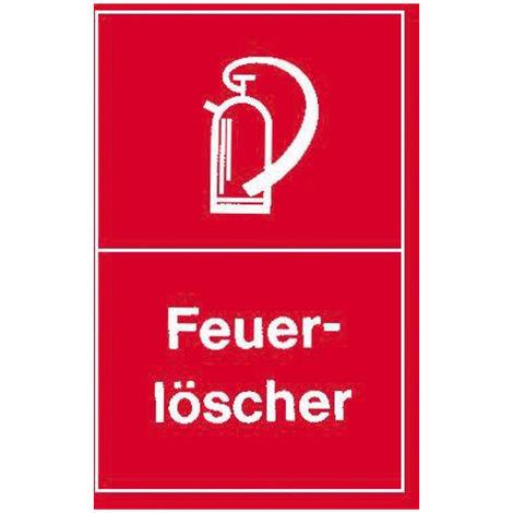 E/D/E Warnschilder Feuerlöscher