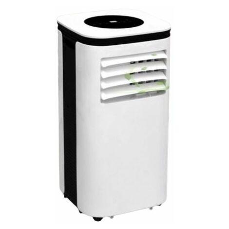 E-DREAM Climatiseur mobile monobloc 9000BTU/h 56db Wi-fi pour surface 25m2 - Blanc