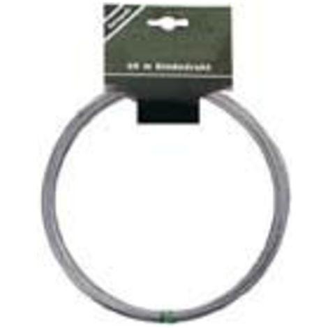 E-FLOR Bindedraht verzinkt 1,0 mm 25-m-Ringe