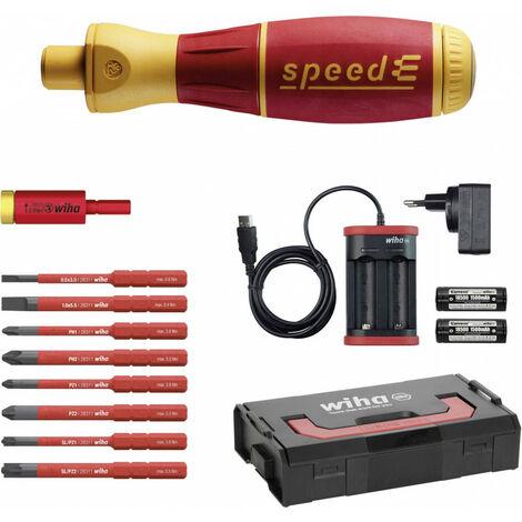 E-tournevis VDE Wiha speedE electric Set 3 41913 1 set X437711
