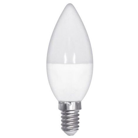 """main image of """"E14 Candle Bulb, 5W E14 LED Bulb, 500LM, Brilliant as 60W equivalent bulb, C37 (Ses), Warm White 3000K, Non Dimmable, Ideal for Bedroom, Living Room, Crystal Chandelier [Energy Class A +]"""""""