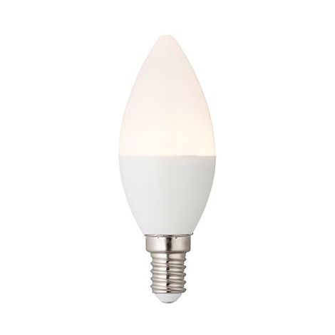E14 Led Candle Design Bulb Dimmable 4.5W Warm White Accessory - Opal Pc