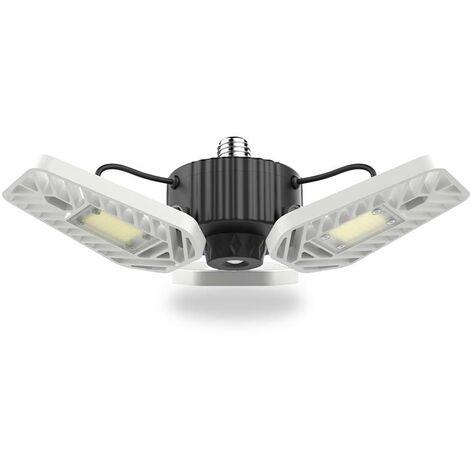 E27 Led DEPOT 60W con sensor movimiento y luminosidad, Blanco frío