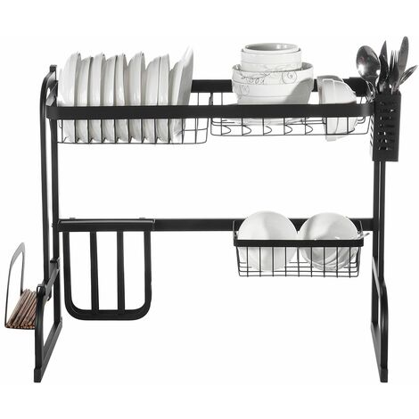 Eacute; 65.5CM Stainless Steel Multifunctional Kitchen Dish Drainer