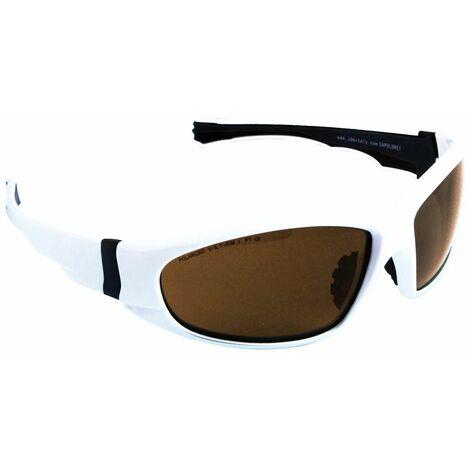 Eagle EAPOLBWEY - Gafas polarizadas Marrón Montura Blanca