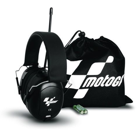 Earfun Pro Radio Edition MotoGP - noir