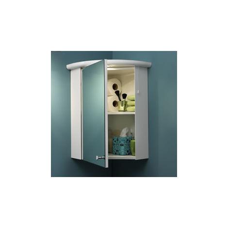 Eastbrook Corner Cupboard Light Cornice 75mm x 560mm High Gloss White