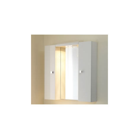 Eastbrook Faro Wall Cupboard 840mm x 250mm White
