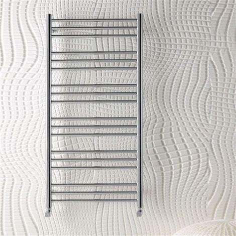 Eastbrook Heating - Biava Round Towel Rail 600 x 400mm - Chrome