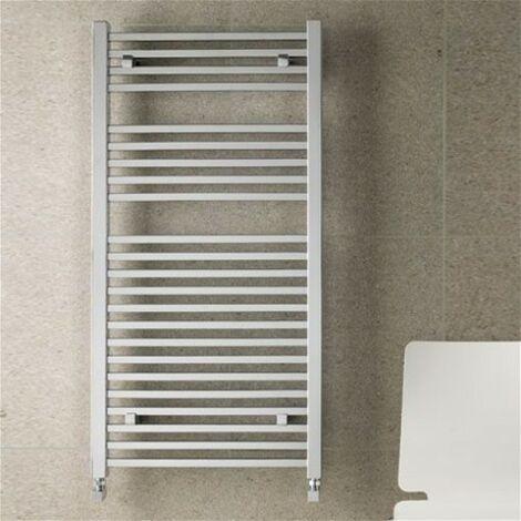 "main image of ""Eastbrook Heating - Biava Square Towel Rail 600 x 500mm - Chrome"""