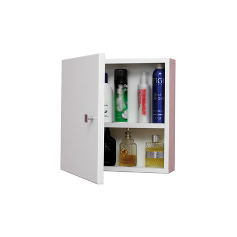 Eastbrook Oslo Square Wall Cupboard 484mm x 458mm White