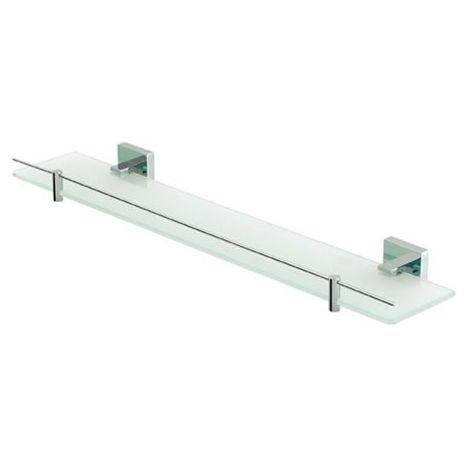 Eastbrook - Rimini Glass Shelf With Barrier - Chrome