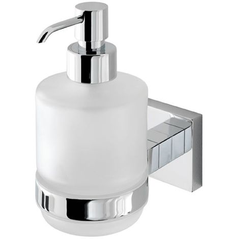 Eastbrook - Rimini Glass Soap Dispenser - Chrome