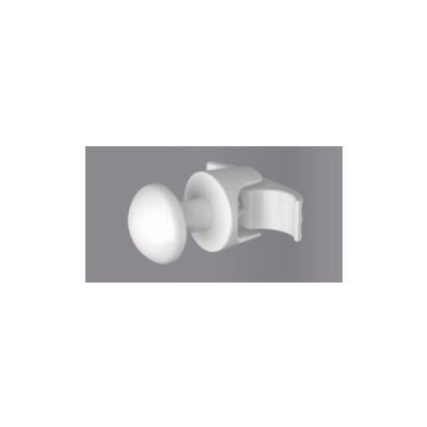 Eastbrook Rivassa robe hook single White (Single)