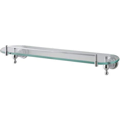 Eastbrook - Rockingham Glass Shelf - Chrome