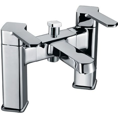 Eastbrook - Walton Bath Shower Mixer With Kit - Chrome