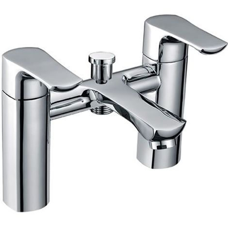 Eastbrook - WInchester Bath Shower Mixer With Kit - Chrome