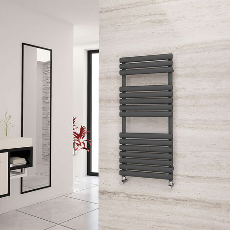 Eastgate Eclipse Anthracite Designer Towel Rail 1120mm x 500mm - Electric Only - Standard