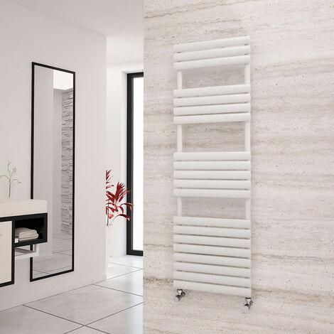 Eastgate Eclipse White Designer Towel Rail 1595mm x 500mm - Central Heating