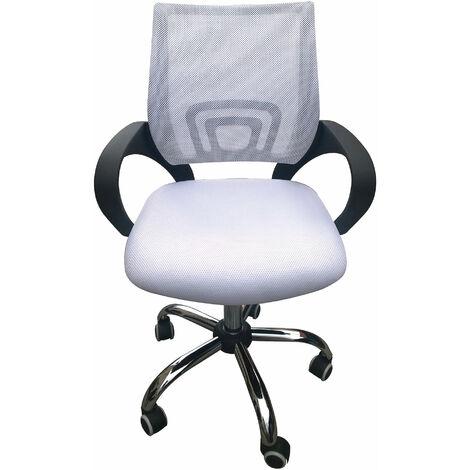 Eastner Mesh Office Chair White