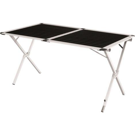 Easy Camp Campingtisch Rennes XL, Tisch, schwarz/silber